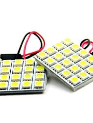Недорогие -39mm / T10 / BA9S Для кроссовера / Для автоматического транспортера / Для трактора Лампы 10 W SMD 5050 720 lm 20 Фары дневного света / Подсветка приборной доски / Подсветка для чтения Назначение