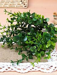 baratos -Flores artificiais 1 Ramo Pastoril Estilo Plantas Flor de Mesa