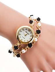 cheap -Women's Quartz Bracelet Watch Casual Watch Alloy Band Elegant Fashion Multi-Colored