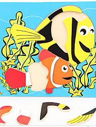Недорогие -цвет древесины головоломки подводный мир