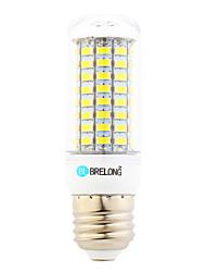 6W E26/E27 LEDコーン型電球 T 89 LEDの SMD 5730 温白色 クールホワイト 550lm 6000-6500;3000-3500K 交流220から240V