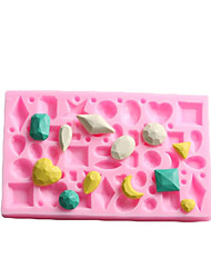 cheap -Novelty For Chocolate For Cake Silicon Rubber Cake Molds