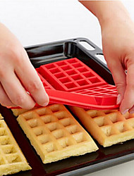 cheap -The Oven With Diy Cake Mould 4 Square Silicone Waffles Muffin Mould Cake Mould Baking Tools