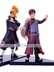abordables -Las figuras de acción del anime Inspirado por Naruto Cosplay CLORURO DE POLIVINILO 16 CM Juegos de construcción muñeca de juguete