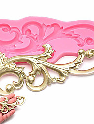 cheap -Silicone  Vintage Relief Flourish  Cake Mold Sugarcraft Fondant Cake Decorating Tool Mould