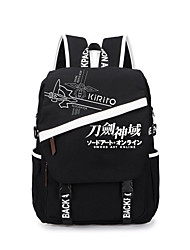 Bag Inspired by Sword Art Online Cosplay Anime Cosplay Accessories Bag Backpack Canvas Male Female