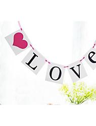 Недорогие -Свадьба Обручение Девичник Плотная бумага Свадебные украшения Пляж Сад Цветы Зима Весна Лето Осень