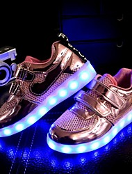 cheap -LED Light Up Shoes, Unisex Kid Boy Girl Breathable  Student dance Boot Athletic Shoe Sport Shoes Flashing Sneakers USB Charge