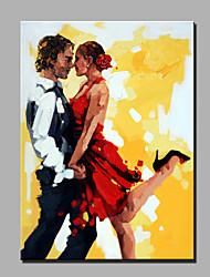 Ölgemälde moderne abstrakte reine Hand zeichnen bereit dekorative Öl zu hängen die Tanzliebhaber Malerei