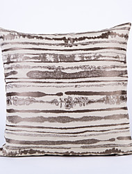 Stripe Jacquard  Cushion Cover-Grey