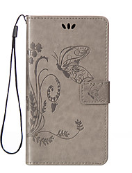 Butterflies Around Open Wallet Holster for LG G3/G3mini/G4/G5/L90/H422/K10(Assorted Colors)