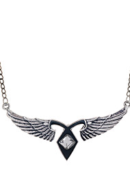 cheap -Men's Women's Wings / Feather Pendant Necklace Pendant Alloy Pendant Necklace Pendant , Wedding Party Daily Casual Sports