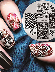 2016 Latest Version Fashion Pattern Nail Art Stamping Image Template Plates