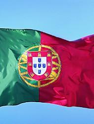 bandeira 150x90cm Portugal 3x5ft bandeira do país Portugal Bandeira nacional português (sem haste)