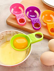 separatore tuorlo d'uovo bianco pratico vitellus utensili da cucina bianco divisore mini uovo cucina colore casuale