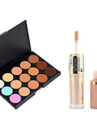 cheap -Concealer/Contour Matte / Shimmer CreamSun Protection / Coverage / Whitening / Oil-control / Long Lasting / Concealer / Natural / Dark