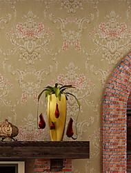 cheap -Contemporary Wallpaper Art Deco 3D Warm Big Flower Wallpaper Wall Covering Non-woven Fabric Wall Art