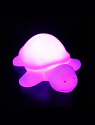 Creative Color-Changing Acrylic Rainbow Turtle LED Colorful Night Lights Beautiful Home Decoration