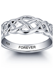 Fashion Customs Name Personalized 925 Sterling Silver Finger Ring For Women