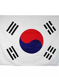 novos pés 3x5 sul grande bandeira de coreia do poliéster do coreano decoração lar nacional banner (sem haste)