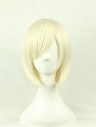 abordables -cosplay perruque / nouvelle / animé cos perruques de cheveux blond clair