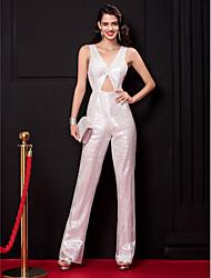 economico -A tubino A V Lungo Con strass Festa di fine anno scolastico Serata formale Vestito con Con strass di TS Couture®