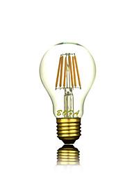 Недорогие -1шт 4 W 2300 lm E26 / E27 LED лампы накаливания A60(A19) 4 Светодиодные бусины COB Декоративная Тёплый белый 220-240 V / 1 шт. / RoHs
