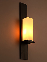 abordables -AC 100-240 MAX 60W E26/E27 Tradicional/ Clásico Pintura Característica for Mini Estilo,Luz Ambiente Candelabro de pared Luz de pared