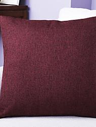 baratos -1 pçs Linho Cobertura de Almofada, Textura Tradicional