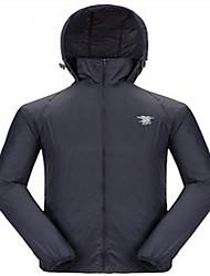 Men's Long Sleeves Hunting Jacket Waterproof Windproof Ultraviolet Resistant Breathable Windbreaker Top for Camping / Hiking Hunting
