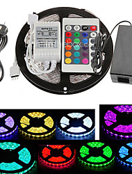 cheap -Z®ZDM 5M 300X5050 SMD RGB LED Strip Light 24Key Remote Controller(AC110-240V)