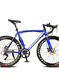 cheap -Road Bike Cycling 14 Speed 26 Inch/700CC SHIMANO TX30 Double Disc Brake Ordinary Monocoque Ordinary/Standard Steel Aluminium Alloy