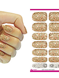 cheap -Nail Art Stickers Metallic Petals Gem Pearl Series Decor Nail Decal Manicure Styling Tools Foil Decals