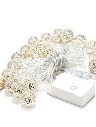 BRELONG 20-LED 3.5m Outdoor Christmas Holiday Decoration Warm White String Light (AC220V)