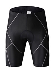 cheap -WOSAWE Cycling Padded Shorts Unisex Bike Padded Shorts/Chamois Tights Shorts Bottoms Bike Wear Quick Dry Windproof Breathable Limits