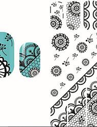 economico -1 Perline diamantini decorativi per unghie Fiore Fantasie design per manicure