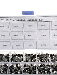 cheap -750pcs 15KindsX50pcs TO-92 Transistor Kit + retail box (A1015, C945, C1815, S8050, S9012,2N2222 ...)