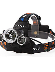 Headlamps Headlamp Straps LED 6000 Lumens 4 Mode Cree XM-L T6 Batteries not included Rechargeable Waterproof Night Vision for