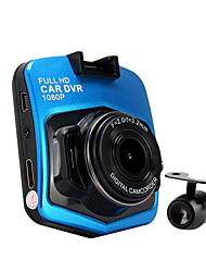 abordables -h9 1080p / Full HD 1920 x 1080 DVR de voiture 140 Degrés / 170 Degrés Grand angle 5.0 CMOS MP 2.5inch Dash Cam avec HDR 1 LED infrarouge