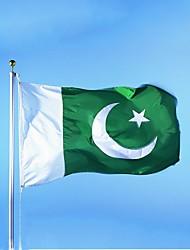 frete grátis paquistão bandeira faixa pendurada a bandeira nacional paquistão bandeira decoração de casa (sem haste)