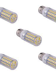 Недорогие -5 шт E14 / G9 / е26 / е27 15 Вт 60 СМД 5730 1500 лм теплый белый / холодный белый кукуруза лампочки переменного тока 110/220 В