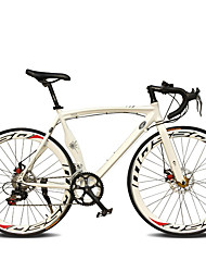 cheap -Road Bike Cycling 14 Speed 26 Inch/700CC 50mm Men's Women's Unisex Adult SHIMANO TX30 Double Disc Brake Ordinary Monocoque
