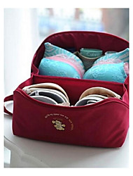 cheap -Travel Bag Travel Toiletry Bag Travel Luggage Organizer / Packing Organizer Portable Luggage Accessory Travel Storage for Clothes Bras