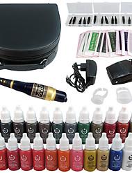 Kit de maquillage Crayons à Sourcils Lèvres Eyeliners Machines de tatouage 3 Ligner rond 5 Ligner rond 7 Liner rond 9 Liner rond 11 Liner