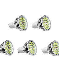 cheap -6W GU10 LED Spotlight 48 leds Warm White Natural White 500-550lm 3500/5000K AC 100-240V
