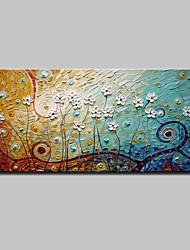 Lager Handmade Landscape Flower Oil Painting On Canvas Wall Paintings For Living Room Home Decor Whit Frame