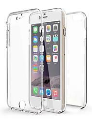 360-Degree All-Inclusive Split TPU Soft Shell for iPhone 6/6s/6plus/6splus