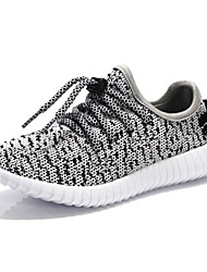 economico -Da ragazzo Sneakers Comoda Tulle Primavera Autunno Comoda Lacci Piatto Nero Grigio Rosa Meno di 2,5 cm