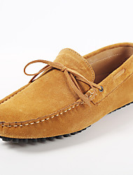 cheap -Men's Shoes Wedding / Office & Career / Party & Evening / Athletic / Casual Suede Loafers Blue / Yellow / Gray