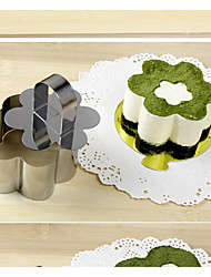 cheap -Cake Cutter Flower For Cake For Bread Stainless Steel New Year's High Quality